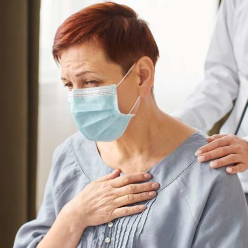 Paciente com covid