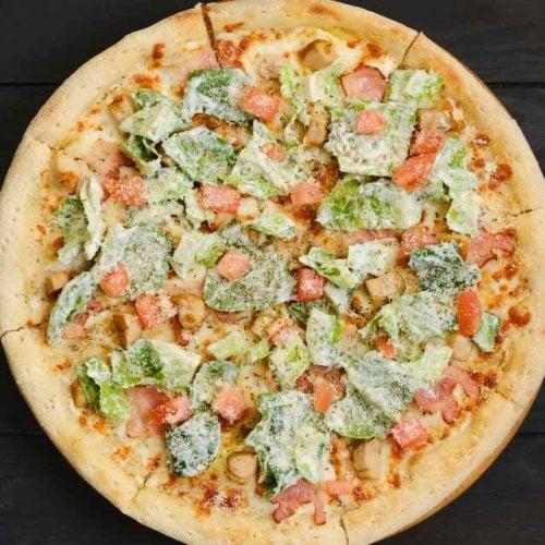 Pizza de alface