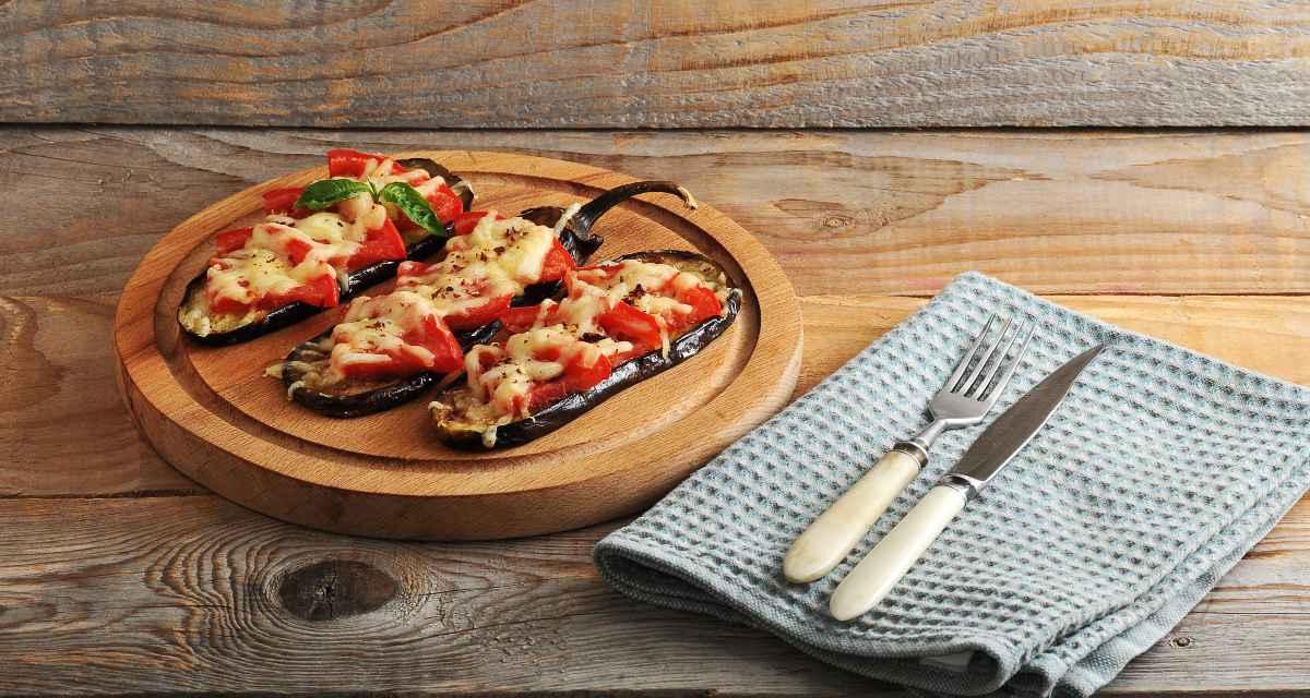 Pizza de berinjela