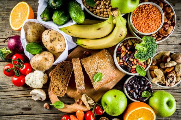 alimentos ricos em fibra