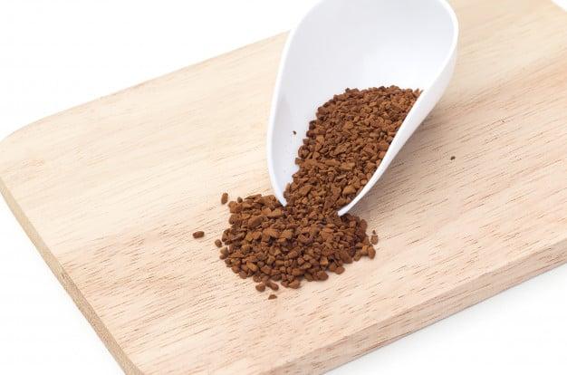 Café solúvel ou instantâneo