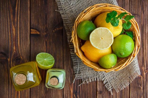 Frutas cítricas são fontes de vitamina C