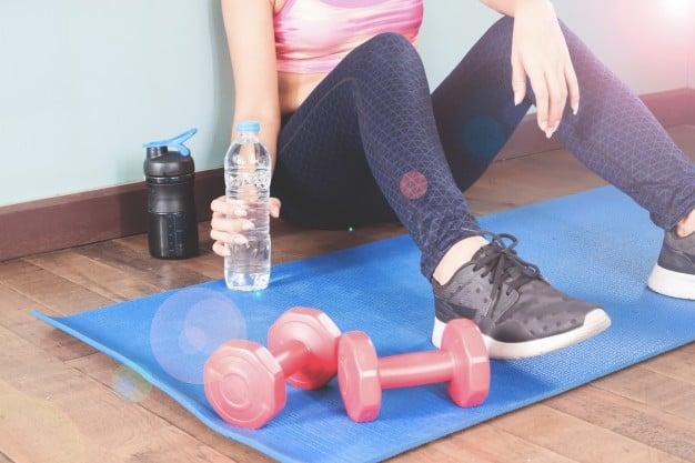 hidratação e exercícios