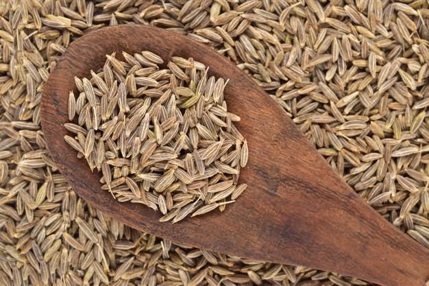 sementes de cominho