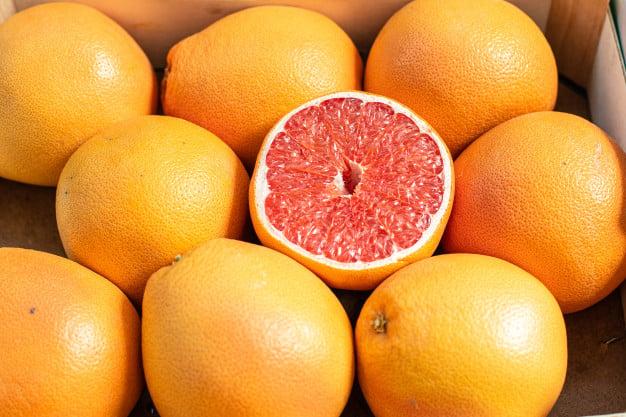 toranja ou grapefruit