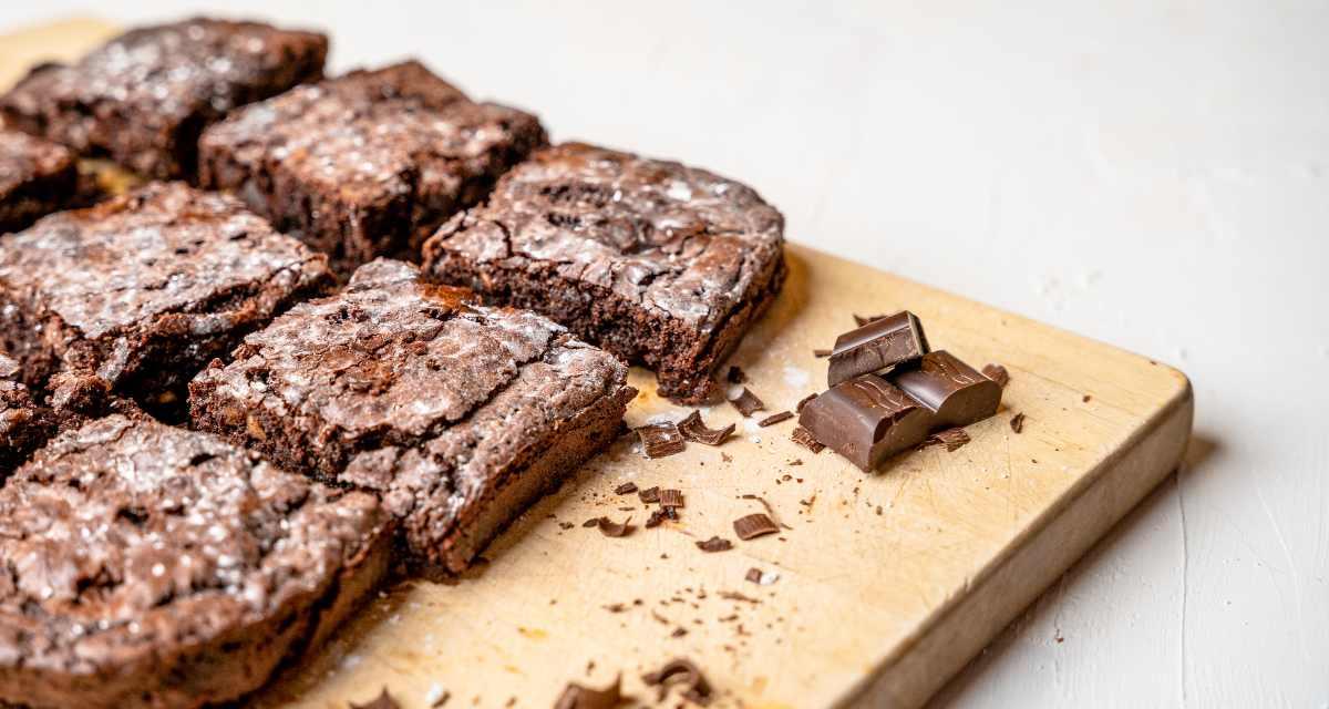 Brownie de teff