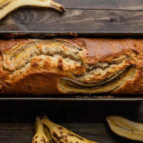 Pão de banana Paleo