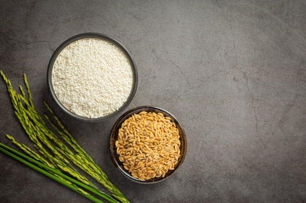 arroz integral vs arroz polido