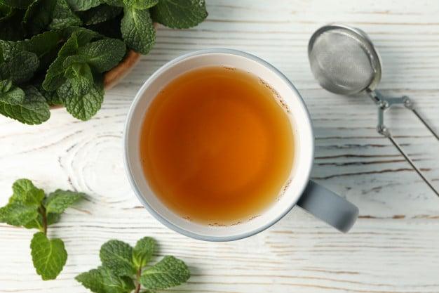 chá de bálsamo