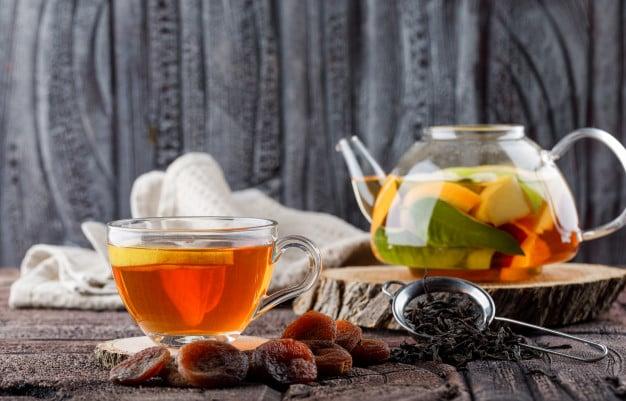 chá mate detox