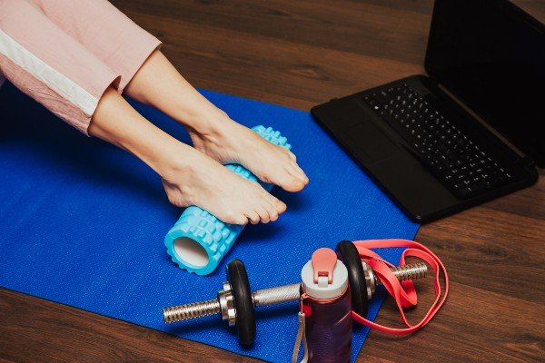 liberação miofascial nos pés