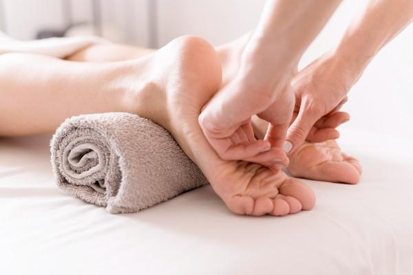 massoterapia nos pés