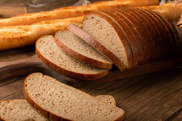 Pão com quinoa