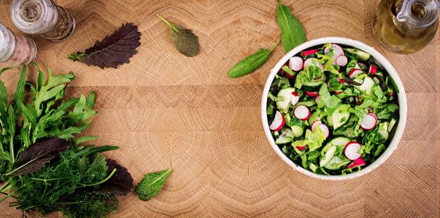 receita de salada de rabanete