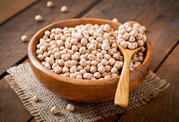 grão de bico têm proteína