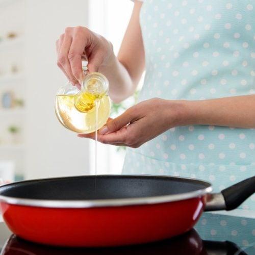 Despejar azeite de oliva