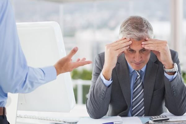 Executivo ansioso