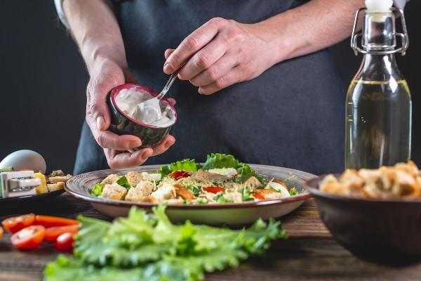 Molho na salada