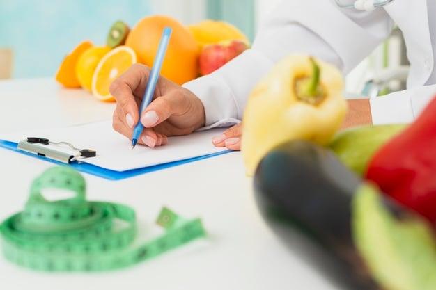 Nutricionista e alimentação