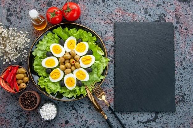 Ovos e saladas não engordam