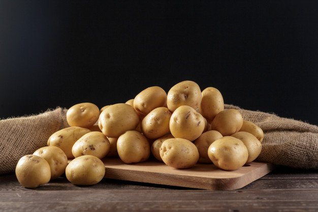 batatas rústicas é um alimento rico em iodo