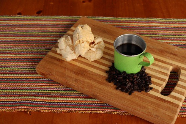 biscoito de polvilho doce assado com coco