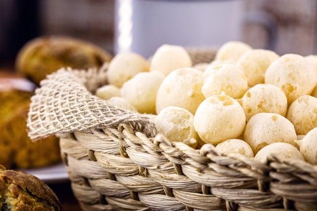 biscoito de polvilho com semente de abóbora