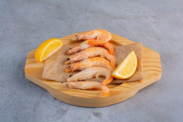 camarão é um alimento rico em iodo