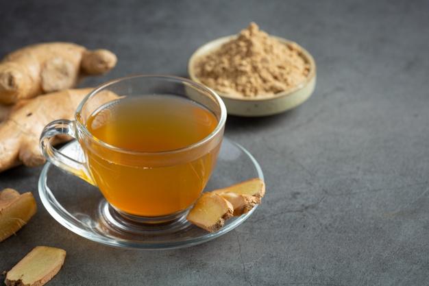 receita de chá de abacaxi com gengibre