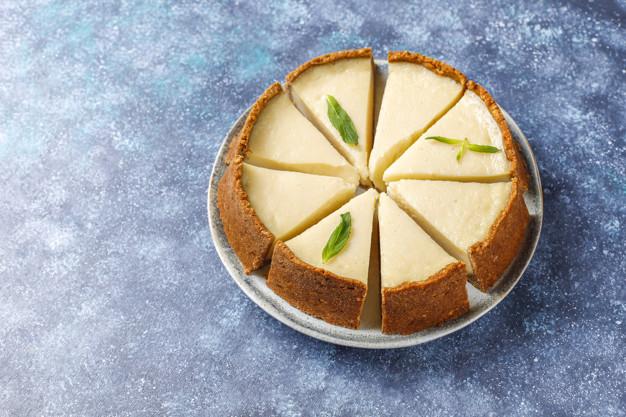 Receita de doce low carb - cheesecake