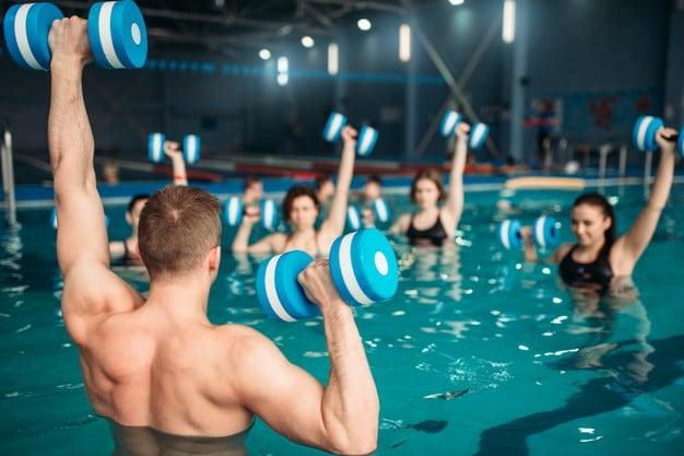 exercicios na água - hidroginástica