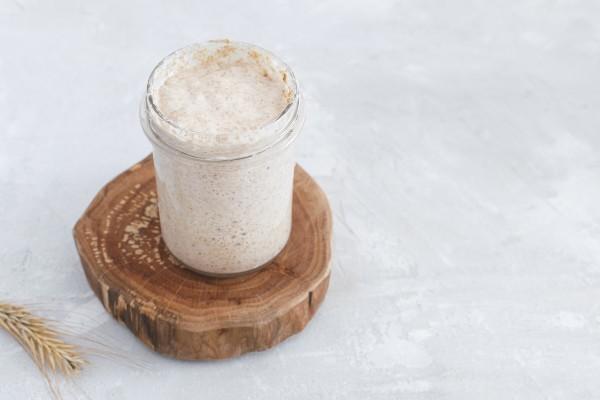 fermento natural levain