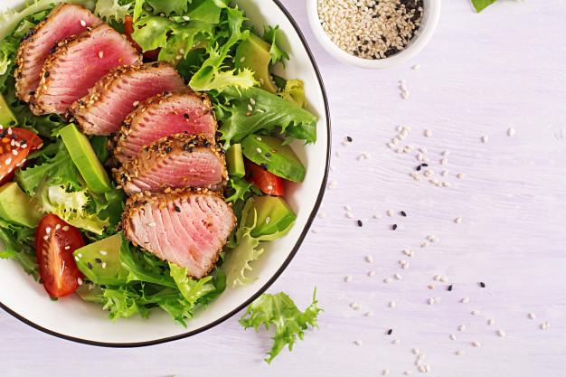 Receita de atum com quinoa