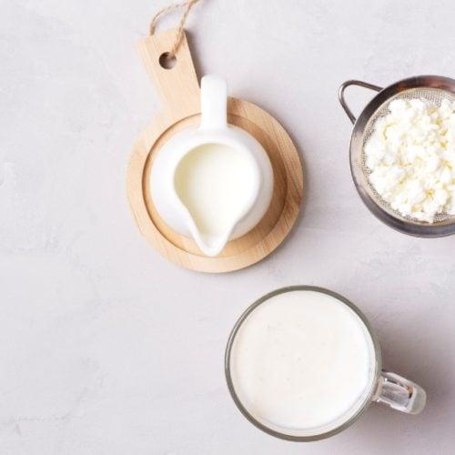 leite fermentado