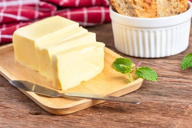 manteiga de leite de soja