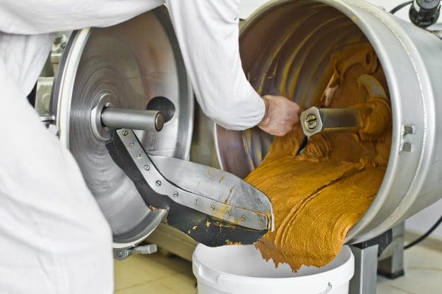 produção de margarina