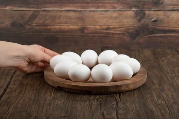 ovos cozidos é um alimento rico em iodo