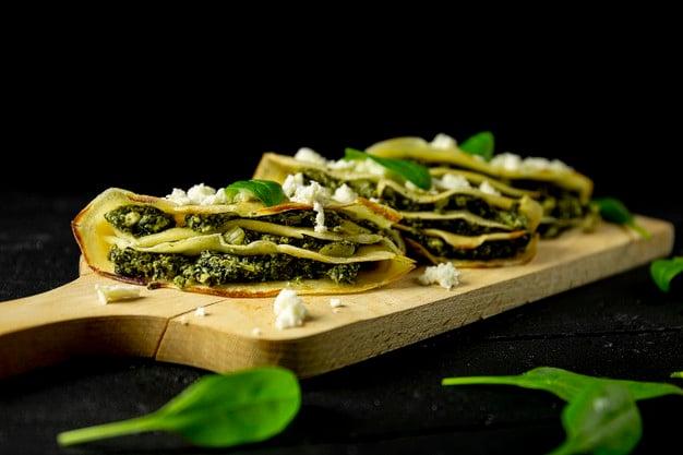 Receita de panqueca de tapioca light de brócolis
