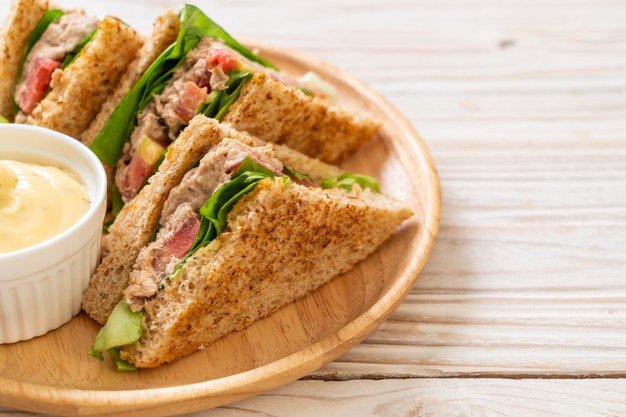 receita de sanduiche de atum