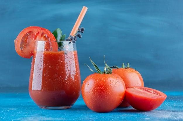 suco de tomate para baixar o colesterol