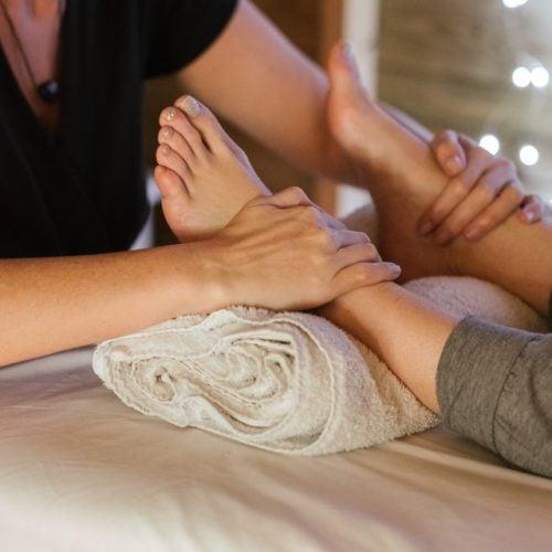 Tratamento nos pés