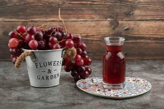 suco de uva para baixar o colesterol