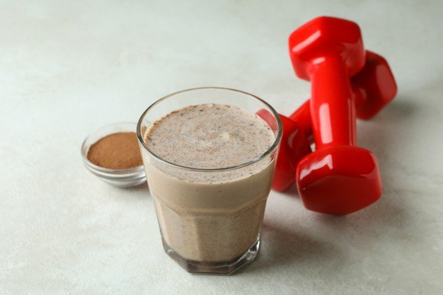 whey protein com leite