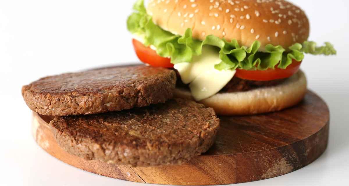 Hambúrguer de aveia e feijão