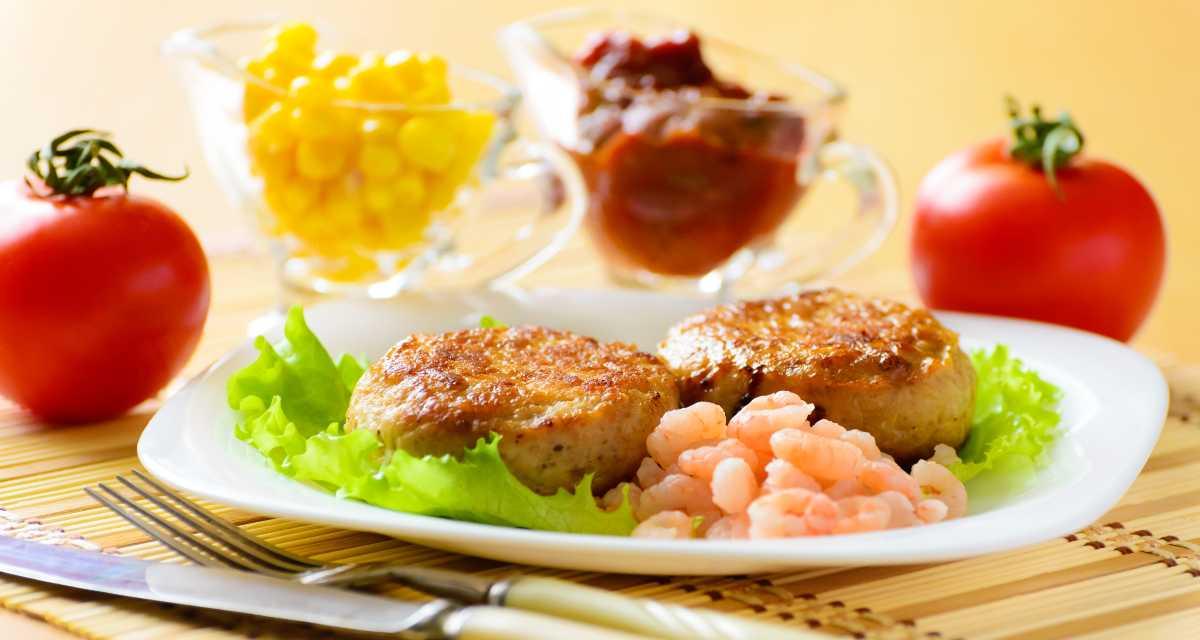 Hambúrguer de camarão