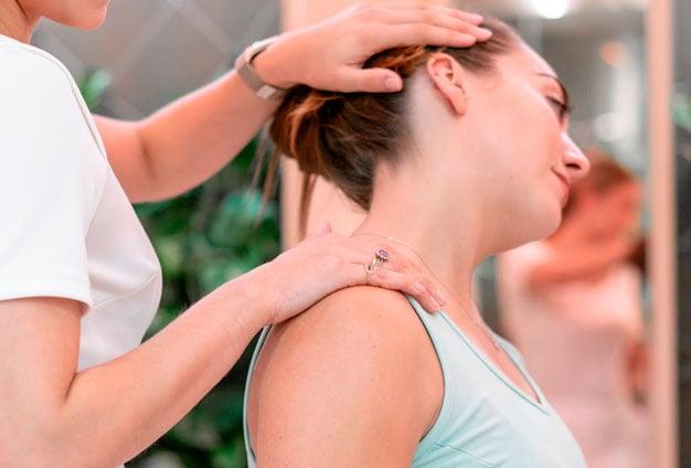 Alongamento para o pescoço
