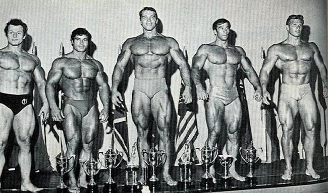 Arnold Schwarzenegger competição