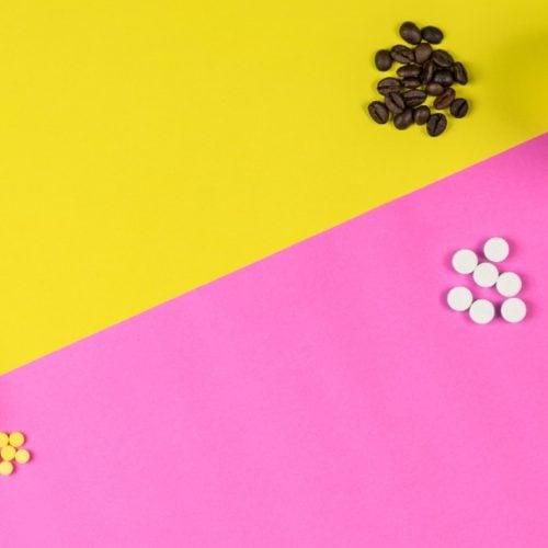 cápsula de cafeína