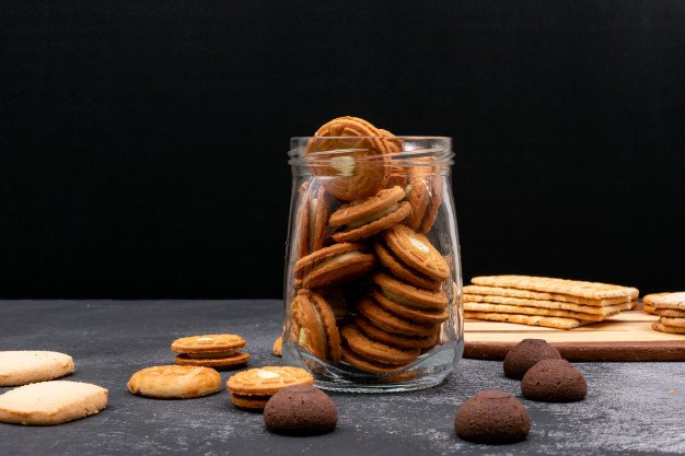 biscoitos recheados