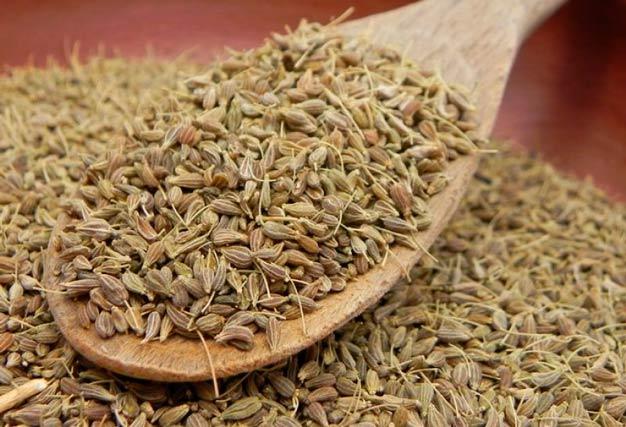 sementes de funcho (erva doce) desidratadas